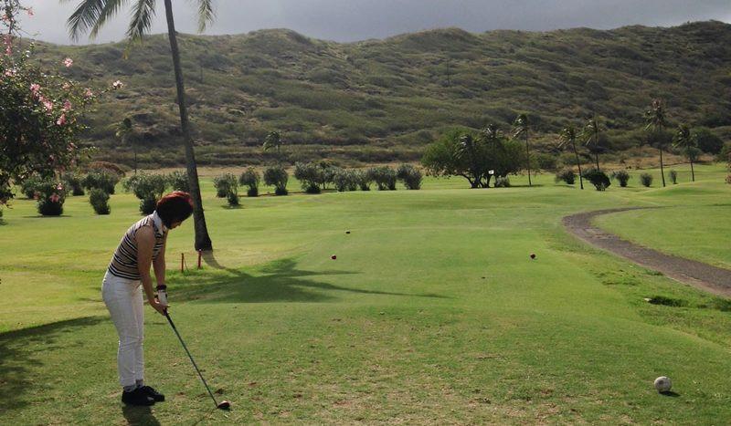 ハワイカイ ゴルフ