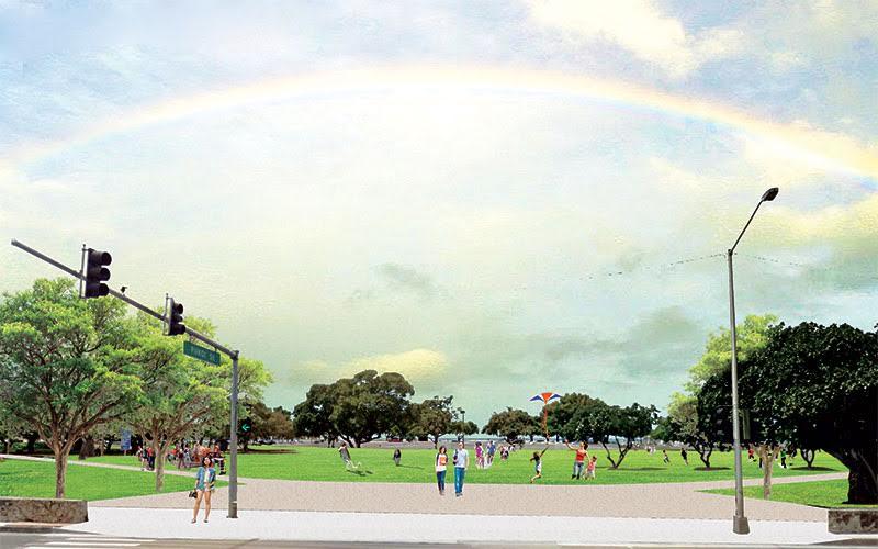 アラモアナ公園の未来
