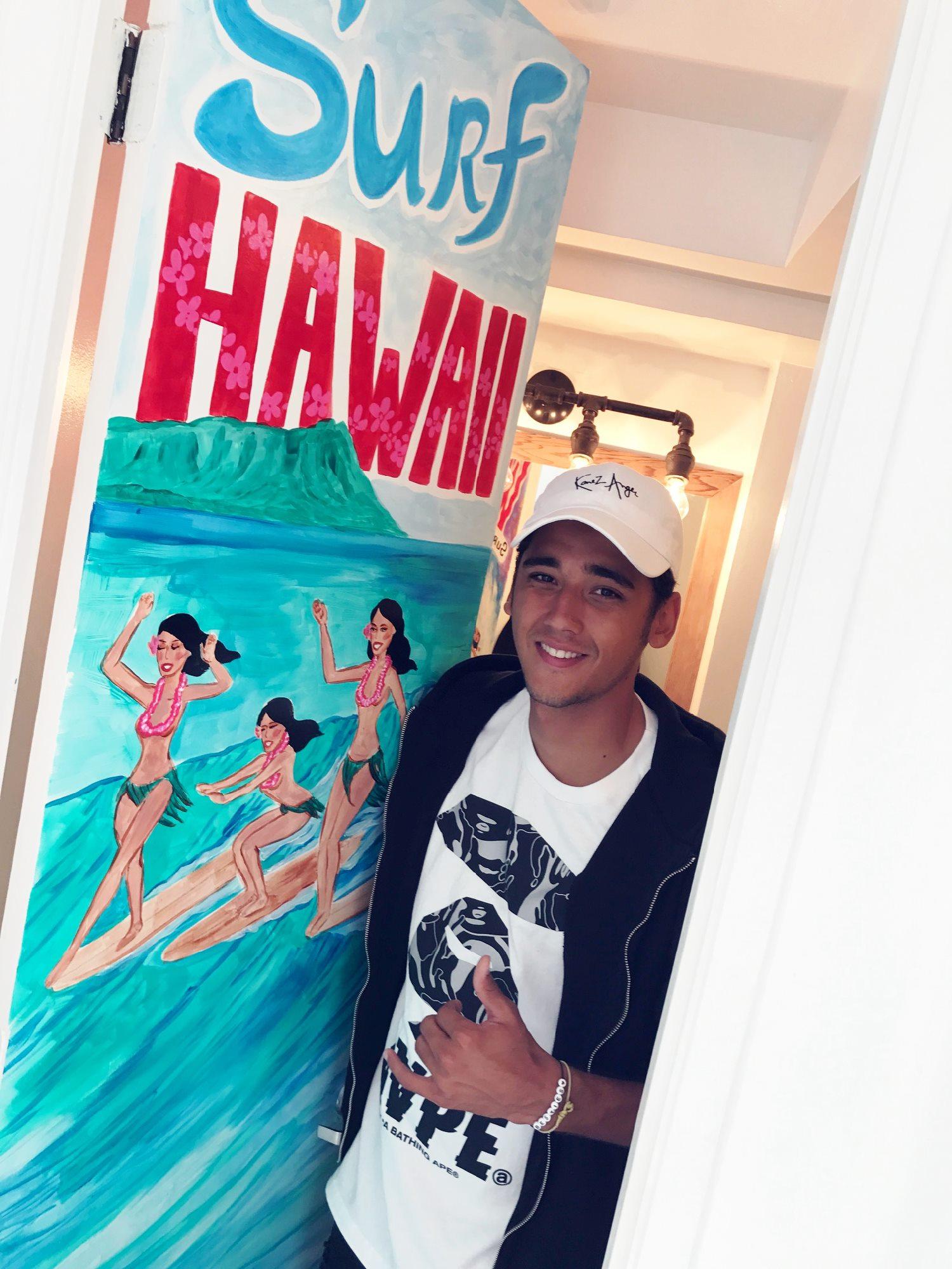テラスハウス ハワイ