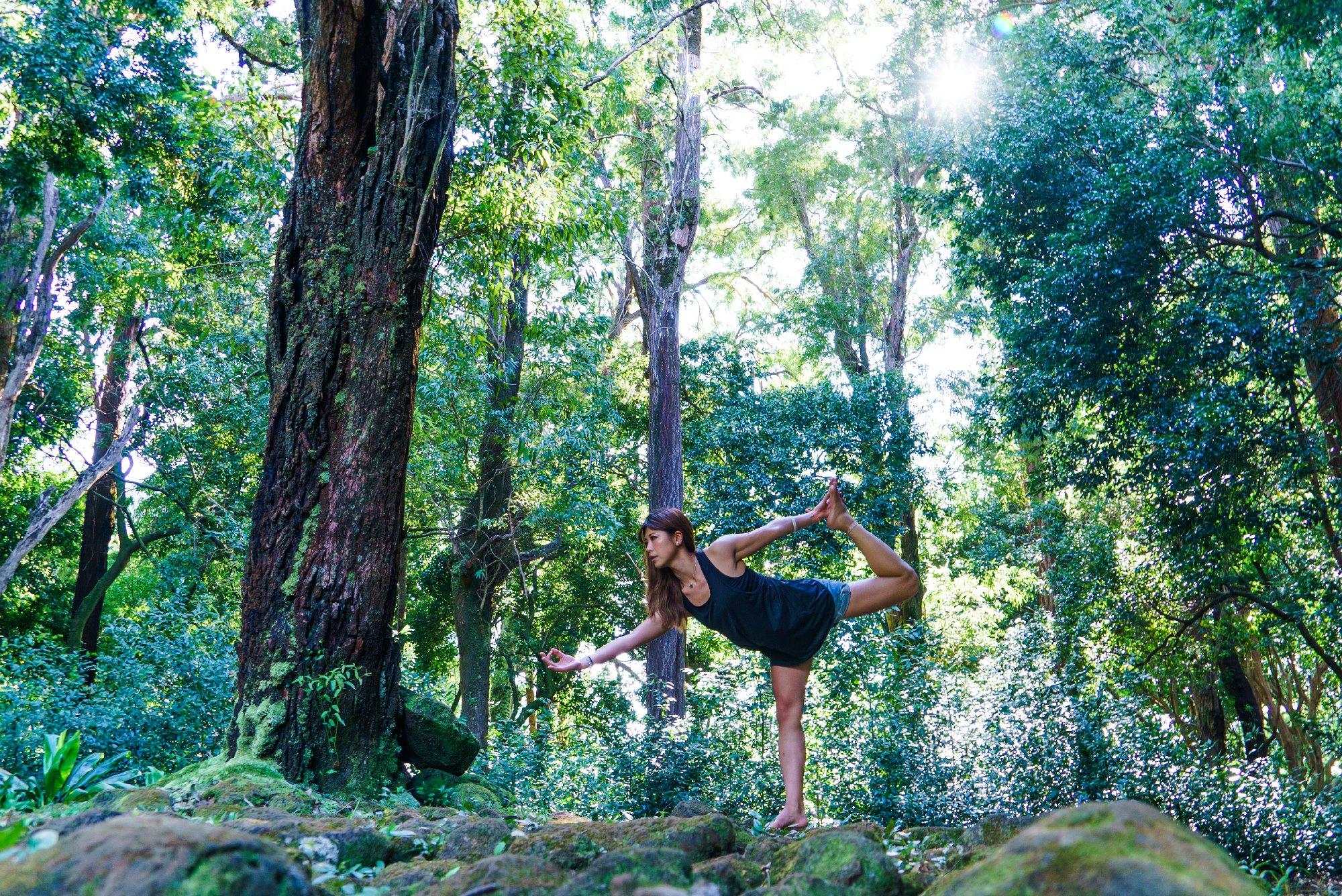 Lei Hawaii Realty Vacation Rental Yoga