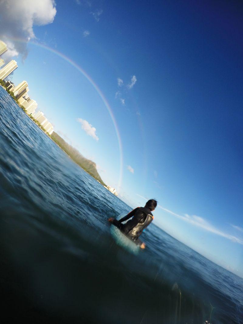 レインボー サーフィン