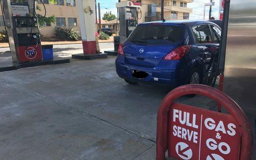 カイムキ ガソリンスタンド フルサービス