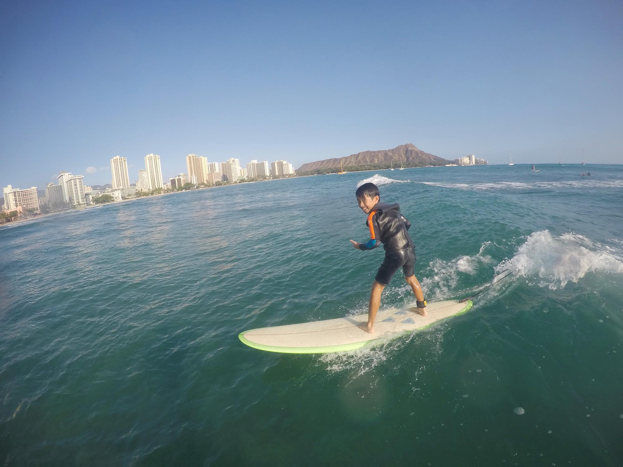 ハワイ サーフィン 移住