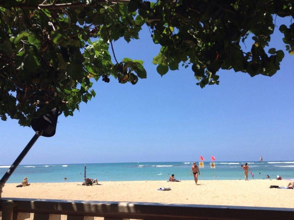 ハワイ カイマナビーチ