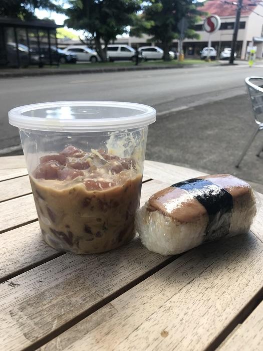 オフザフック ポケ マノア ハワイ