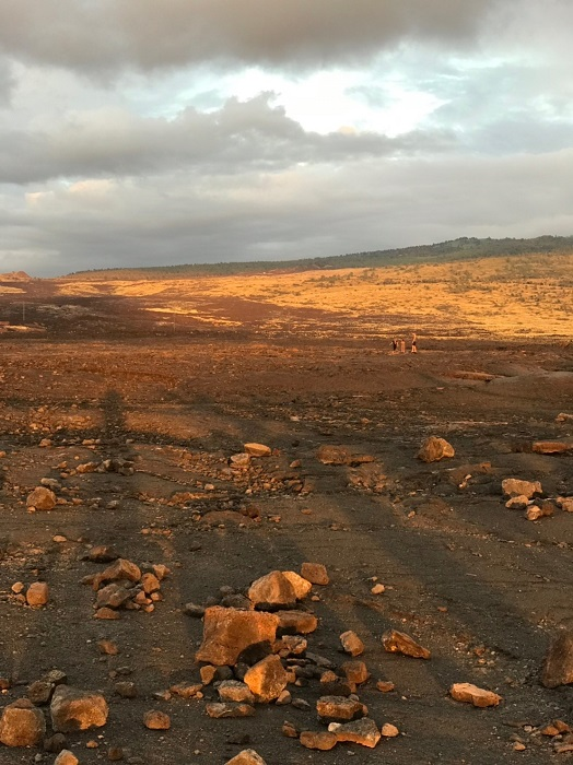 ハワイ島 オーラの見える洞窟