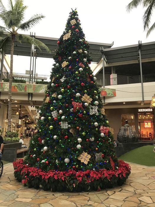 アラモアナ クリスマス