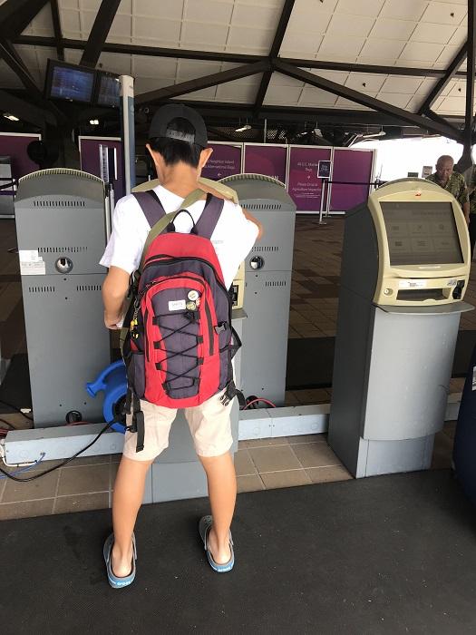 ハワイ島 コナ空港