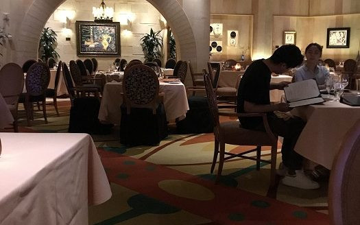 ピカソレストラン ラスベガス ベラージオ