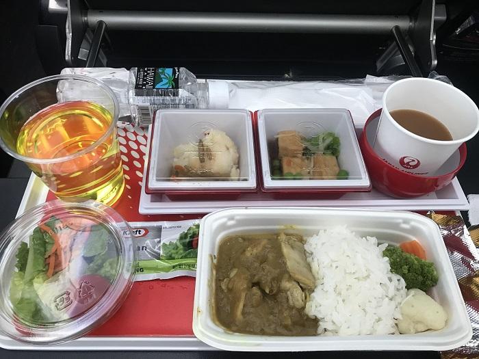 JAL ホノルル関空 ハワイ プレミアムエコノミー