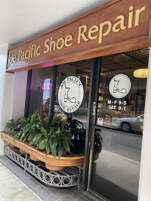 靴 修理 ハワイ