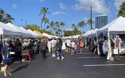 カカアコファーマーズマーケット ハワイ