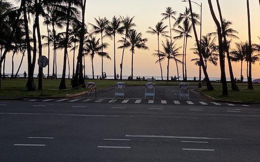 カピオラニパーク ハワイ ウォーキング