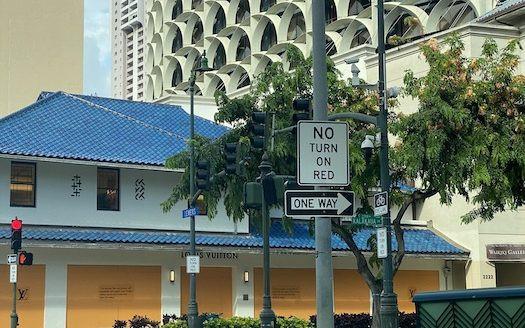 ハワイ ワイキキ 抗議活動