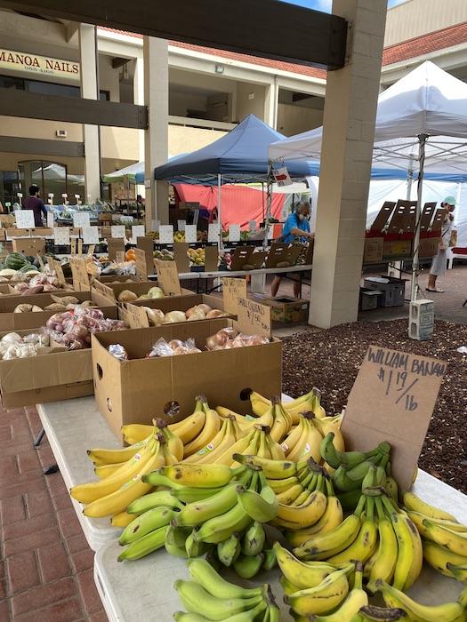 ファーマーズマーケット マノア ハワイ