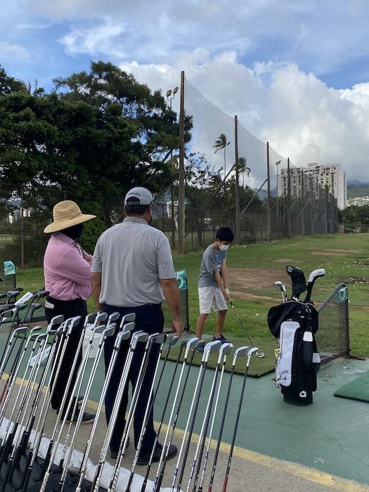 ゴルフ フィッテング アラワイゴルフ ハワイ