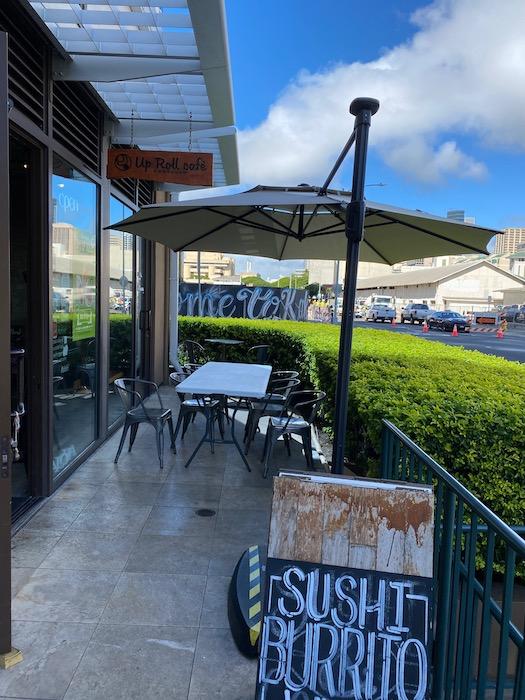アップロールカフェ カカアコ ハワイ