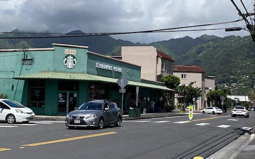 スターバックス マノア ハワイ