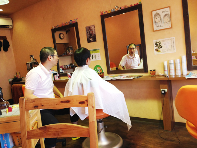 日本 散髪